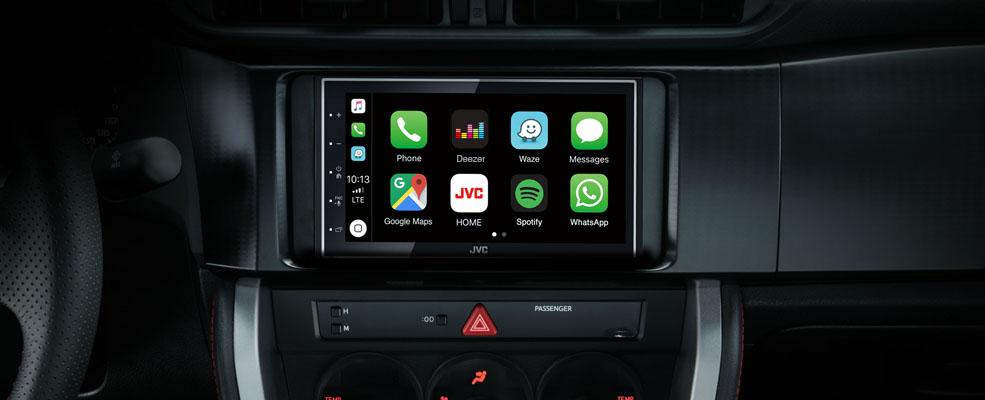 KW-M745DBT Apple CarPlay & Android Auto • JVC Sverige